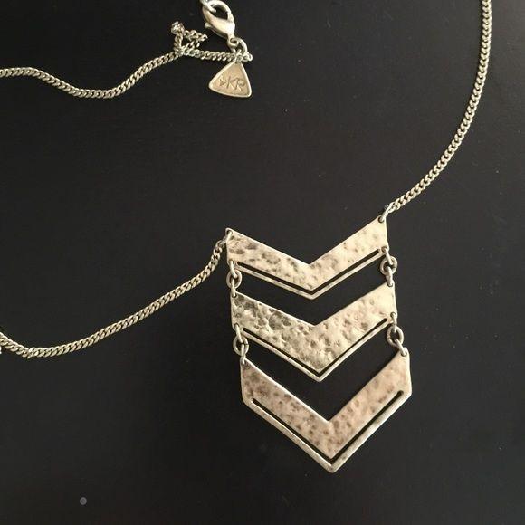 Silpada chevron necklace Gold. New never worn Silpada Jewelry Necklaces