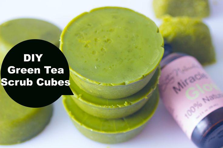 Making Green Tea Body Scrub  (DIY Saturday)Cups - YouTube