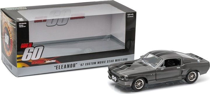 "Gone in 60 Seconds (2000) - 1967 Custom Ford Mustang ""Eleanor"" - Diecast Auto Models 