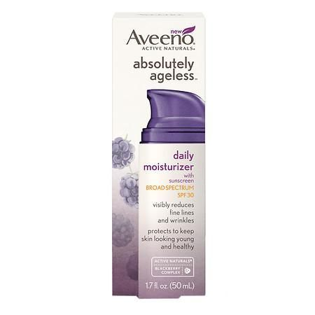 Aveeno Active Naturals Absolutely Ageless Daily Moisturizer Blackberry
