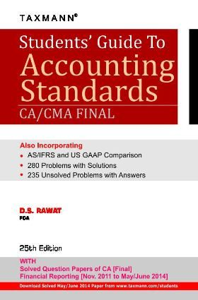 The 14 best accounting images on pinterest finance books mcgraw students guide to accounting standards cacma final by ds rawat price fandeluxe Gallery