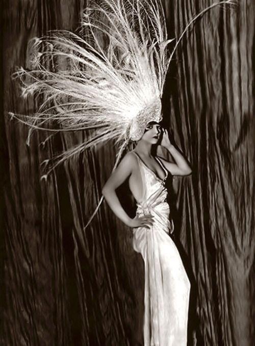 1920's showgirl.