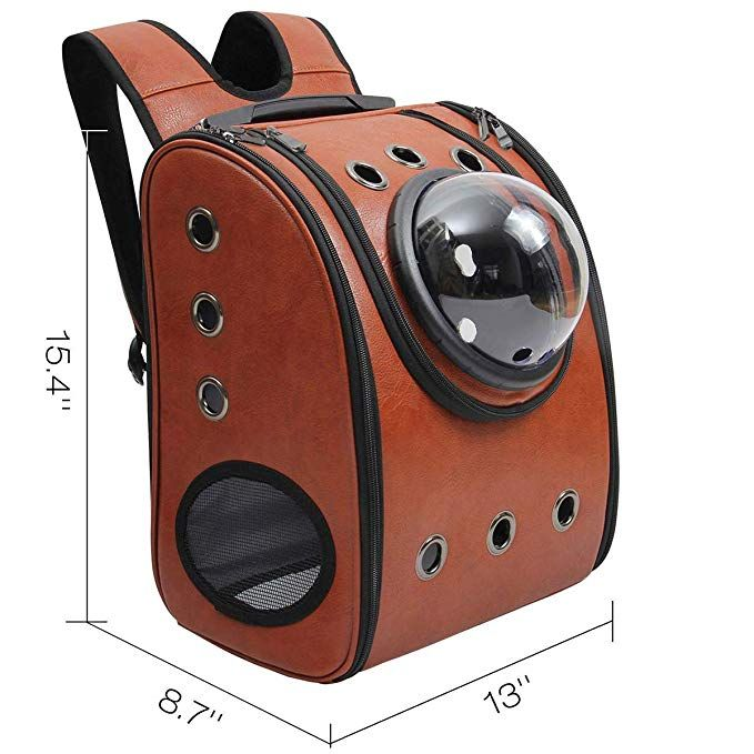 Amazon Com Aukor Space Capsule Bubble Backpack Pet Carriers With Soft Sided Pad For Dogs And Cats Ve Dog Backpack Carrier Cat Backpack Carrier Pet Backpack