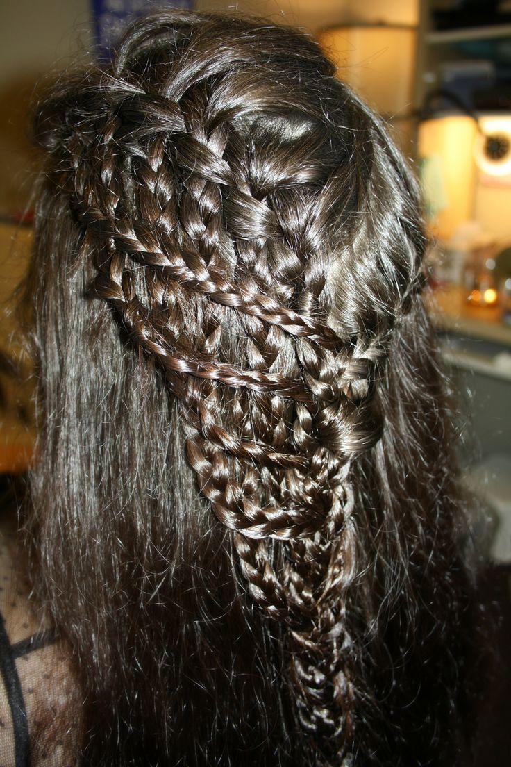 Waterfall Braid (1st attempt.)
