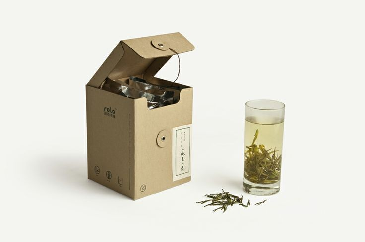 A bowl of to see human Tea packaging - mint brand design