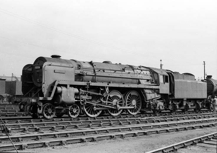 70036 'Boadicea' Stratford, circa 1956.