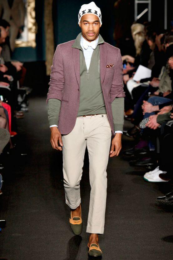 Model Sonny Marcel Harris