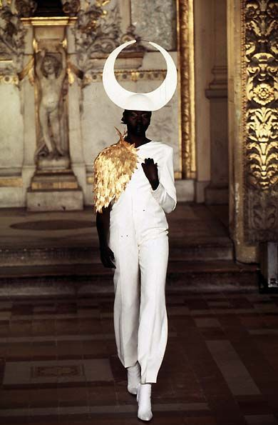 Gold Leopard: Givenchy Spring / Summer Couture 1997