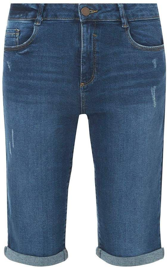 3e465b90a0 Tall Indigo Knee Denim Shorts #lining#leather#Removable | Handmade ...