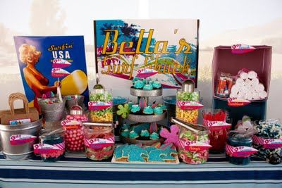 Retro Surf Party Surf Shack...great party favors.