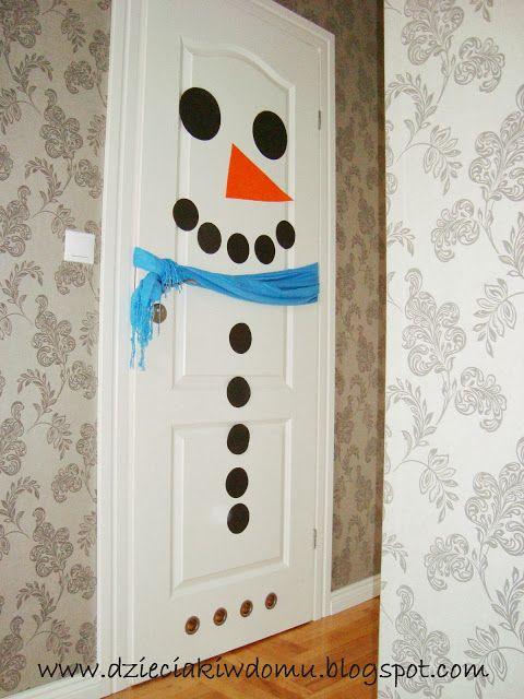 snowman crafts - bałwanek - projekty dla dzieci