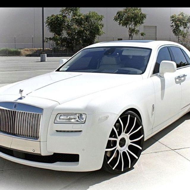 Rolls Royce......Ghost. Ok I lied!! They're so pretty I like that!