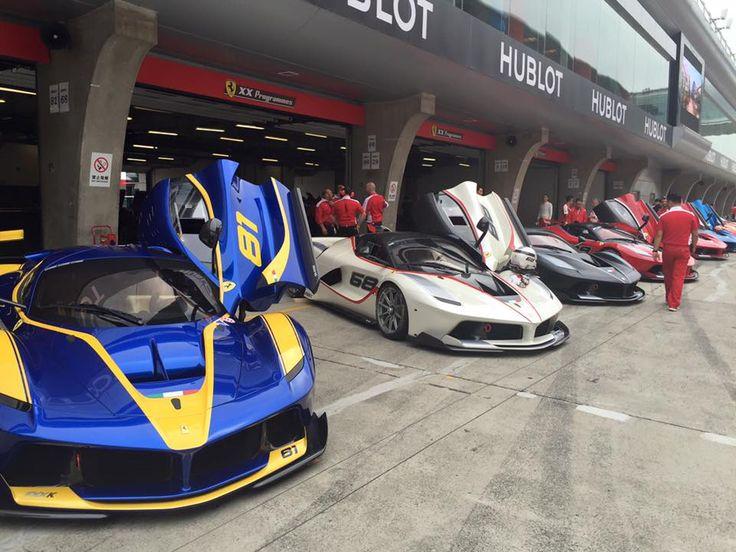 Gallery: Ferrari FXX K Galore at Ferrari Racing Days Shanghai 2016 - GTspirit