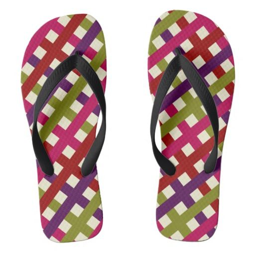 Colorful Pattern Flip Flops  Colorful Pattern Every day wear designed by graphc brand.  If you like the design please do us a favour share it with your friends on social media.