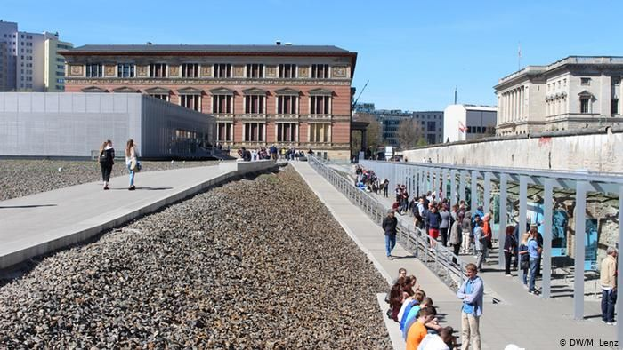 The Exhibition Trench At Berlin S Topography Of Terror Dw M Lenz Museum Island Most Visited Museum