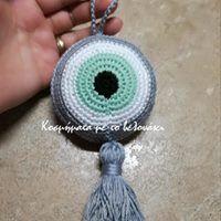 crochet eye
