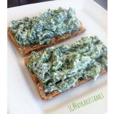 Ripped Recipes - Persian Spinach Spread - Easy and very healthy.