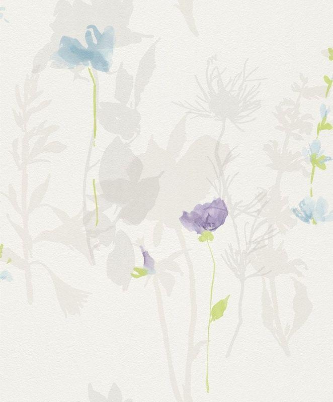 BLOEMEN BEHANG - Rasch Flower Poetry 451627