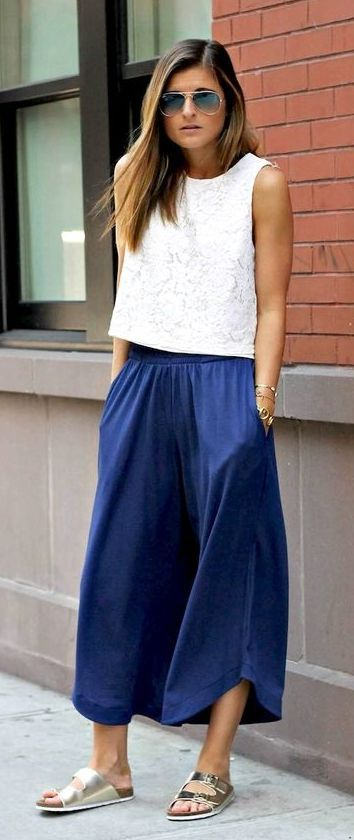 fead4cb07be Beautiful square pants outfit ideas 30+
