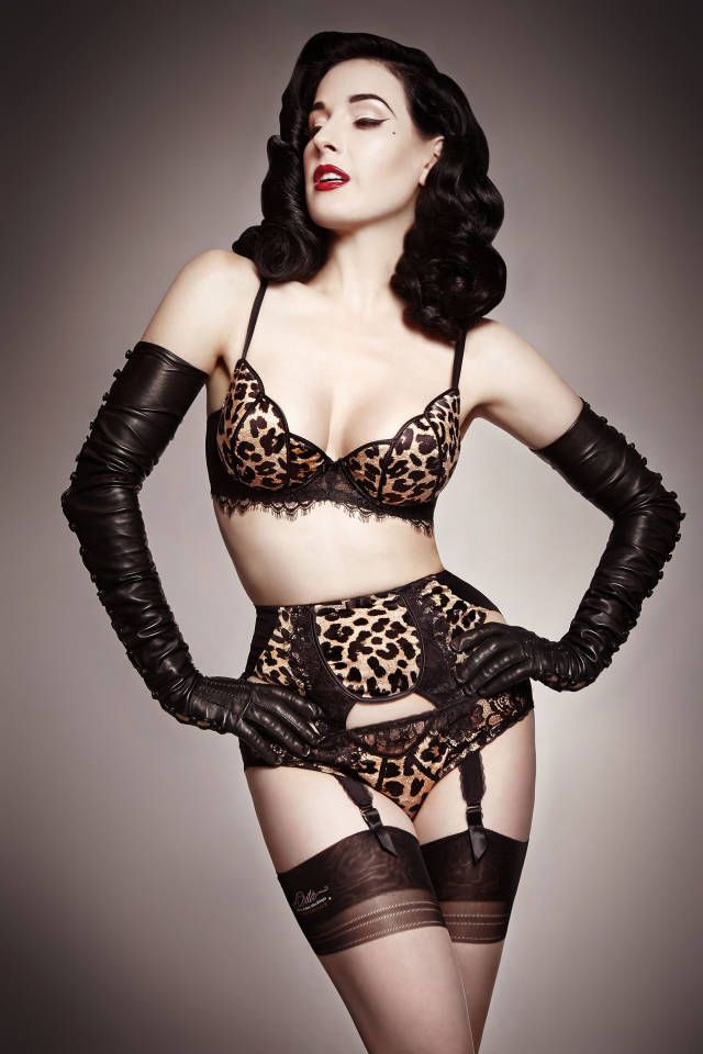 How to Feel Sexy – Dita Von Teese Tips on Feeling Sexy - Harper's BAZAAR Magazine Would YOU wear this???