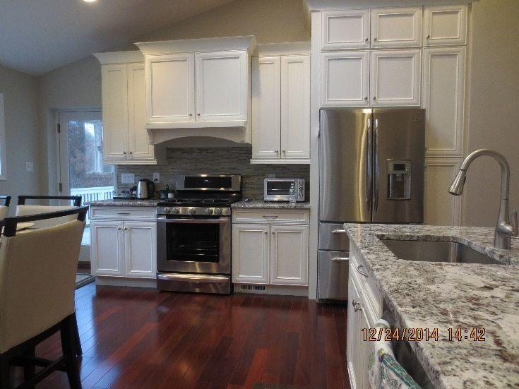 Beautiful Bathrooms & more... - Kitchen Cabinets, Granite Tops & Kitchen Back Splash Tiles (discounted), Kitchen Fixtures (discounted), Recessed Lighting, Brazilian Red Cherry Floors