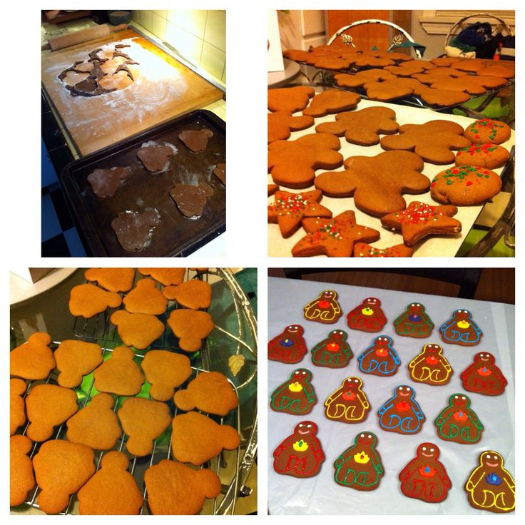 Christmas 2014 Gingerbread yoginis and some classic shapes too! One of my fave gifts to give - Om!