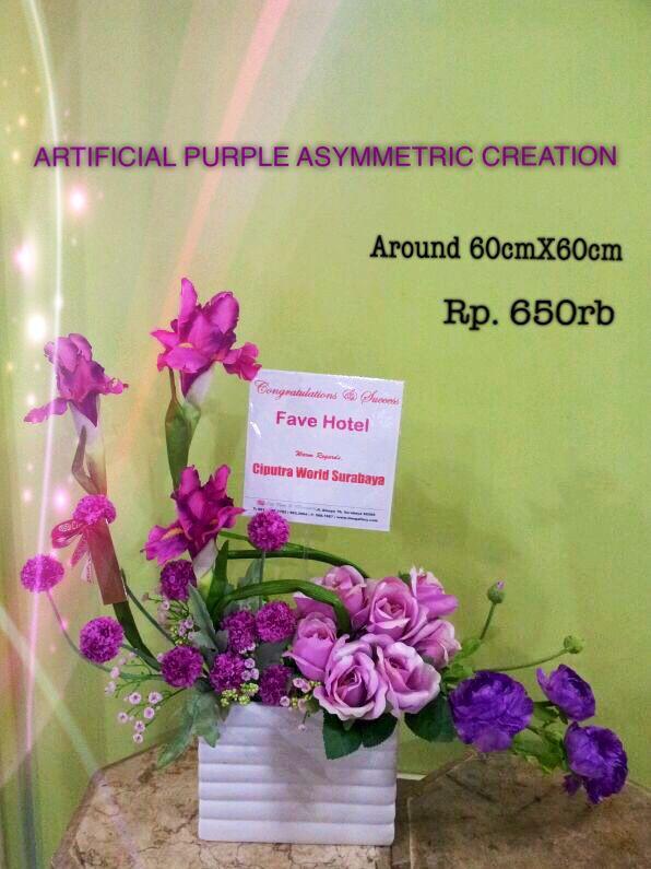 Artificial purple créations by: www.liengallery.com  #surabaya_florist #LienFlowerDecoration #tokobunga #tokobunga_surabaya #delivery_florist_indonesia #florist #fleurs #flower_arrangement #florist_banjarmasin #bunga_meja #bungameja #bouquet #rangkaian_bunga #Indonesia #liengallery #www.liengallery.com #tokobunga_banjarmasin