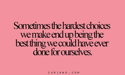 Messed Up Life Quotes: 1000+ Hard Choices Quotes On Pinterest