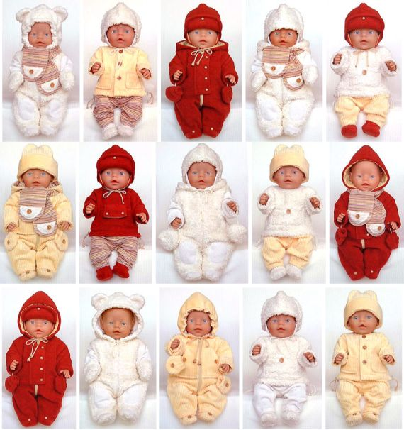 Doll Clothes Pattern | Warm Winter