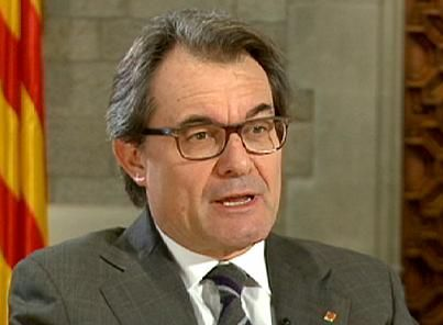 "Independence from Spain: Catalonia's dream, Europe's dilemma - Euronews, 26/03. Artur Mas: ""The Catalan government and myself will do the maximum to ensure that this referendum, for which there is a large consensus in Catalonia, will go ahead as agreed on November 9 2014. We're putting in place all the conditions needed to make it possible."""