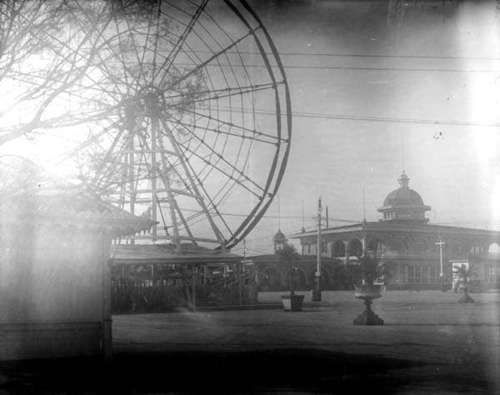The Ferris Wheel at West End Park - 1900s Photo by C. Milo Williams