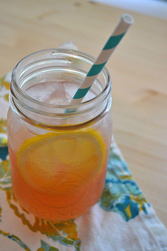 Pink lemonade summer beer