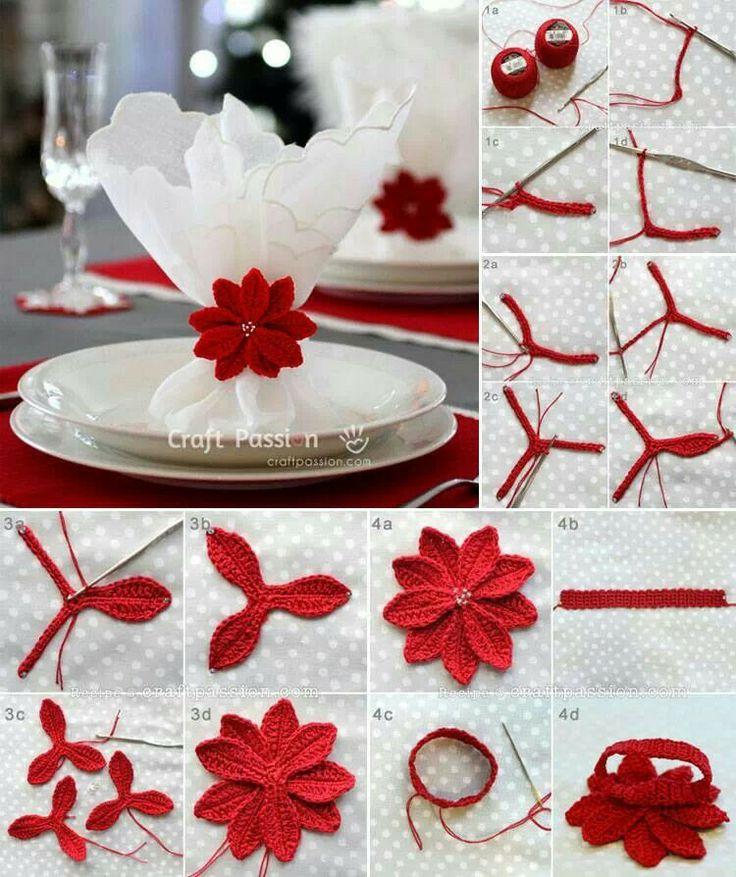 Stelle di Natale Crochet