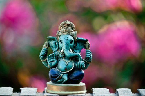 Ganesh / to move my obstacles - elephant