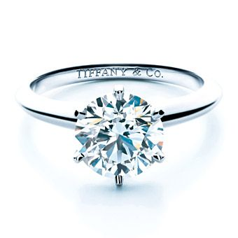 Tiffany & Co. platinum engagement ring