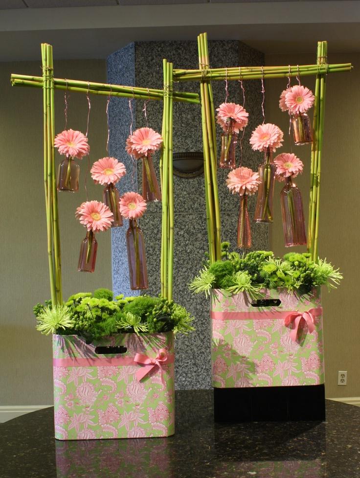 113 besten florale werkst cke bilder auf pinterest art. Black Bedroom Furniture Sets. Home Design Ideas