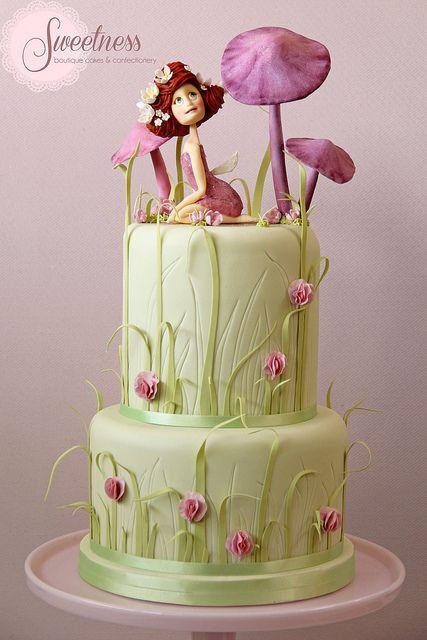 Fairy Tale Garden Cake. www.sweetnessonline.co.uk | Flickr – Compartilhamento de fotos!