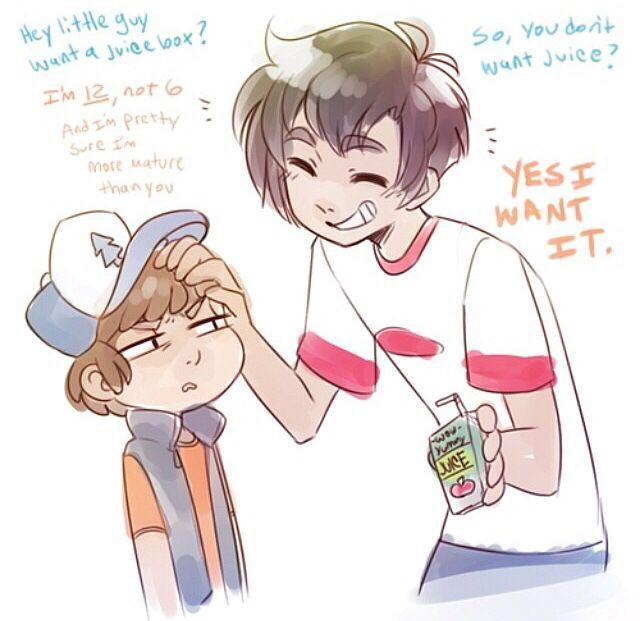 Dipper wants a juice box Danny and Dipper