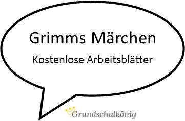 Die Märchen der Gebrüder Grimm: Beim Grundschulkönig gibt es dazu kostenlose Leseproben, Kreuzworträtsel und vieles mehr - alles kostenlos zum Dwonload als PDF.