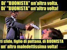 Buonisti pulp fiction