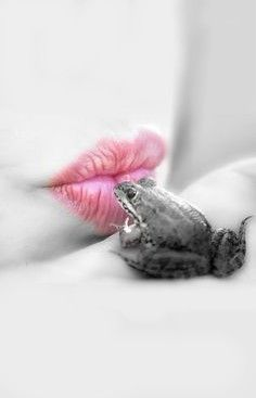 The reason I did not kiss the frog when I was little is because I thought if the frog became a prince, I would not become a princess and no one would be happy. REALLY I DID THINK THIS---hhhhhhh---Malak---
