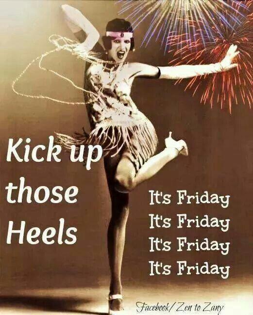 Kick up those heels