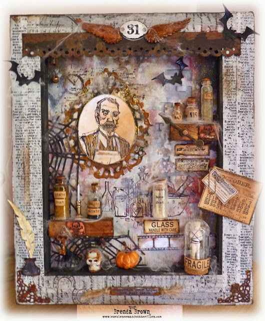 Bumblebees and Butterflies: Halloween Apothecary for CVC