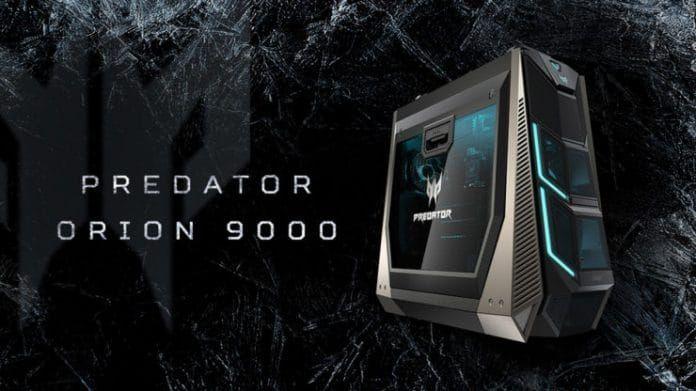 Gaming Desktop: arriva l'Acer Predator Orion 9000, il più potente mai assemblato Ogni volta che viene presentato un computer per il gaming, lo si etichetta come quello più potente. Guardando all'Acer Predator Orion 9000 viene forte il sospetto che tale epiteto sia vero e ben meri #acer #computer #desktop #windows #gaming