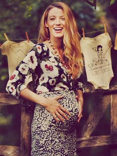 Can I be Blake Lively when I'm pregnant?