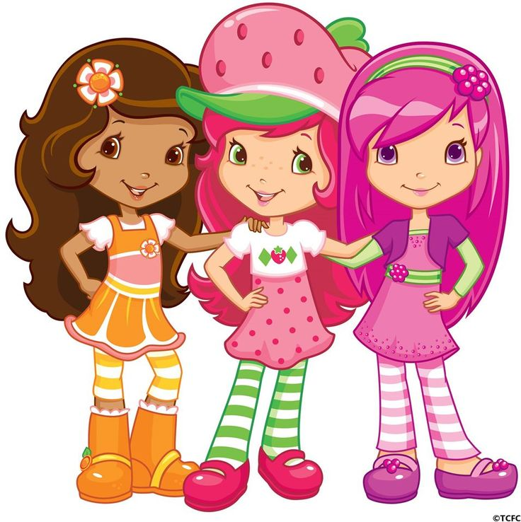 Berry Best Friends As Come Strawberry Shortcake Orange