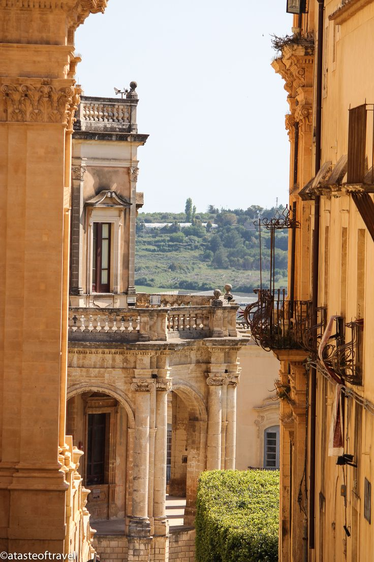 The Sicilian Town of Noto.. Less than three weeks away