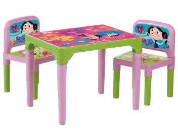Mesa com Cadeiras O Show da Luna - Multibrink