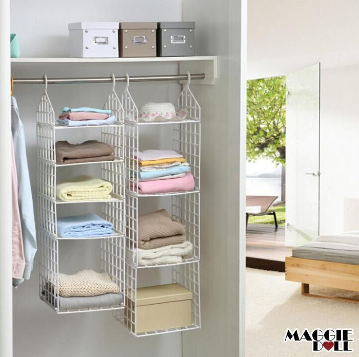 Pin On Hanging Closet Organizer
