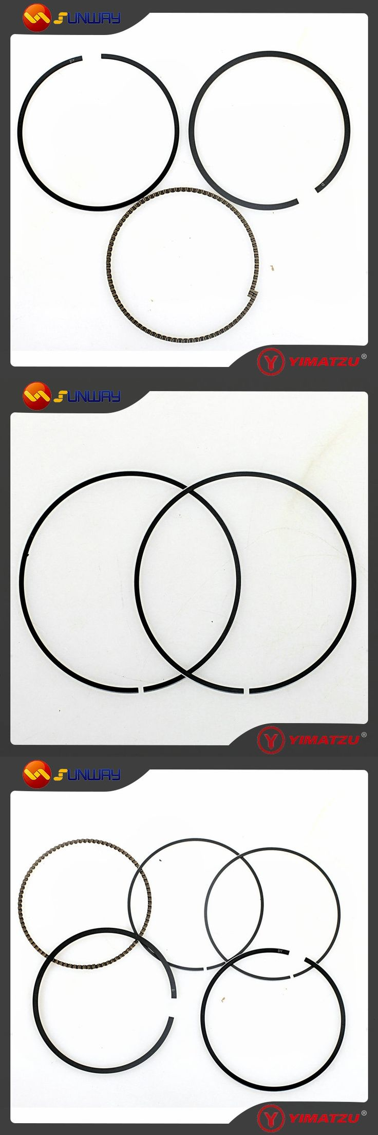 SUNWAY ATV Motorcycle Engine Parts Piston Ring for CFMOTO CF500 X5 CF188 Engine 0180-0400A0 Free Shipping By E-packet